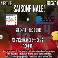 Saisonfinale Männer 1 gegen HSG Böblingen/Sindelfingen 28.04.2018
